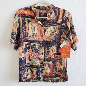 Jams World NWT Limited Edition Russian Top Small